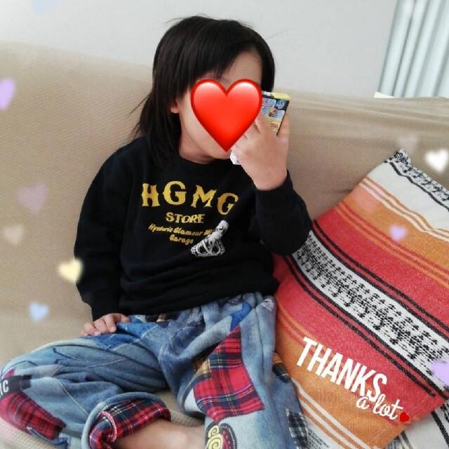 HYSTERIC MINI(ヒステリックミニ)の専用☆トレーナー キッズ/ベビー/マタニティのキッズ服男の子用(90cm~)(Tシャツ/カットソー)の商品写真