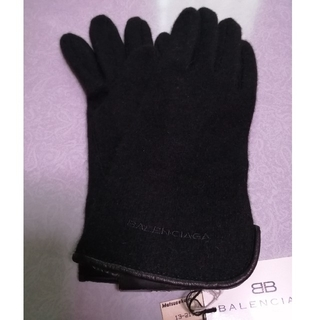 Balenciaga - BALENCIAGA バレンシアガ手袋  レディース  黒  新品