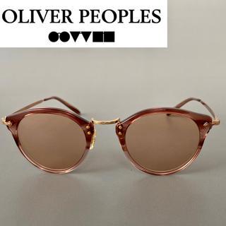 ◆オリバーピープルズ OV サングラス OP ボストン ピンク オーバル