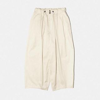 1LDK SELECT - sillage cream ventile circular pants