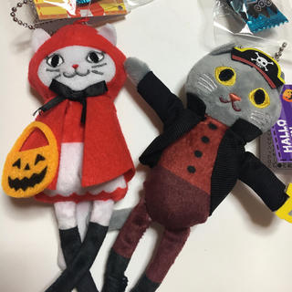 KALDI - KALDI  カルディ ハロウィン2020 くたくたネコ セット