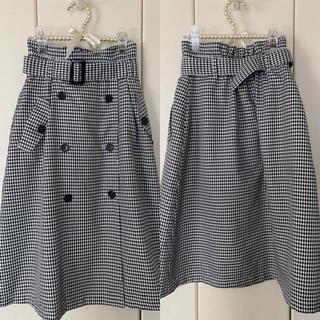 ファビュラスアンジェラ(Fabulous Angela)のファビュラスアンジェラ ベージュタイトスカート(ひざ丈スカート)