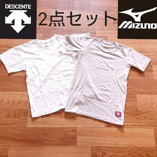 MIZUNO - MIZUNO BREATH THERMOブレスサーモ DESCENTE Tシャツ