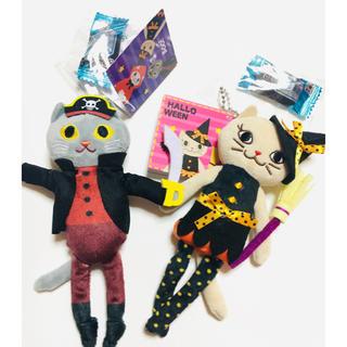 カルディ(KALDI)のハロウィン2020  カルディ くたくたネコセット(菓子/デザート)