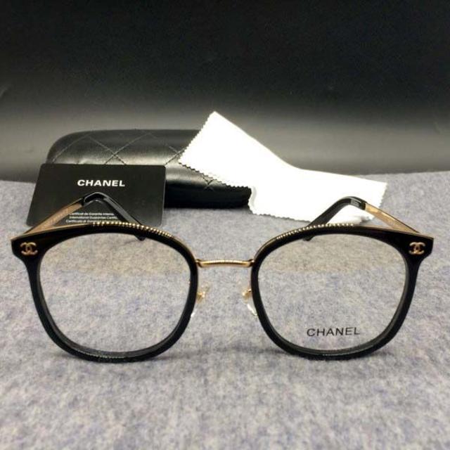 CHANEL(シャネル)のシャネル CHANEL 2130 メガネ フレーム サングラス ブラック レディースのファッション小物(サングラス/メガネ)の商品写真