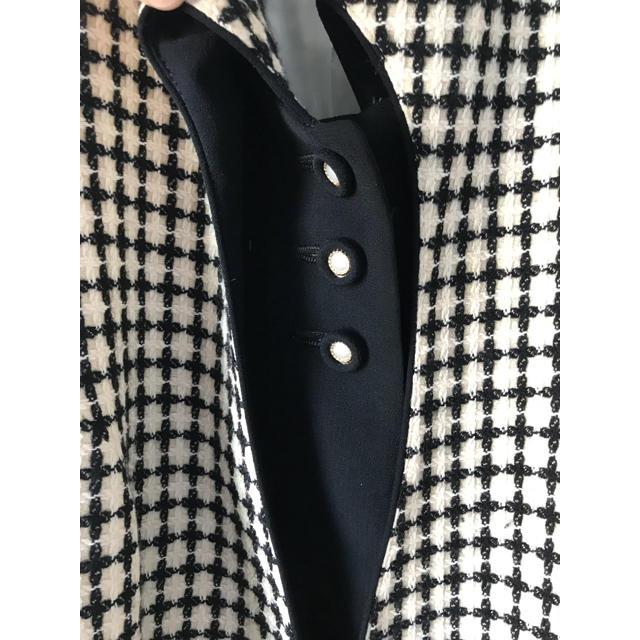 Santa Monica(サンタモニカ)のvintage miyukitokyo チェック柄 ジャケット ヴィンテージ レディースのジャケット/アウター(ノーカラージャケット)の商品写真