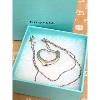 Tiffany & Co. - ティファニー オープンハート Lサイズ ネックレス  エルサ・ペレッティ