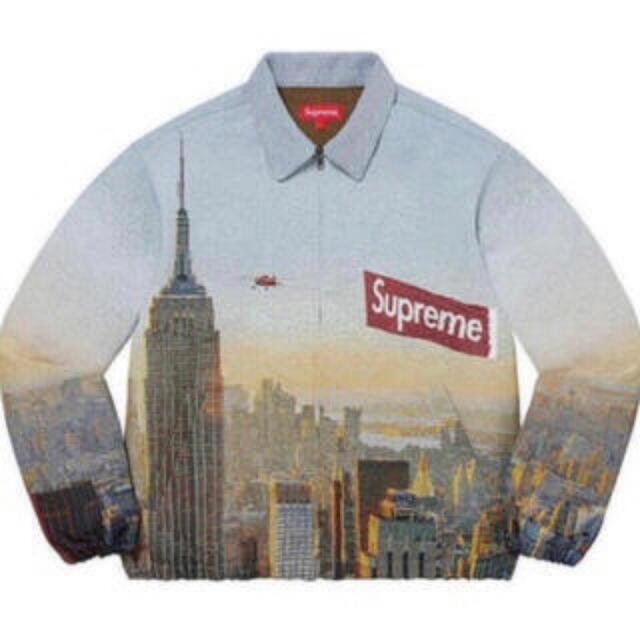 Supreme(シュプリーム)のAerial Tapestry Harrington Jacket L メンズのジャケット/アウター(ブルゾン)の商品写真
