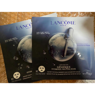 LANCOME - ランコム ジェニフィックアドバンスト ハイドロジェル メルティング マスク 2枚