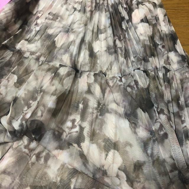 Rirandture(リランドチュール)のRirandture グラデチュールプリーツスカート 最終値下げ レディースのスカート(ひざ丈スカート)の商品写真