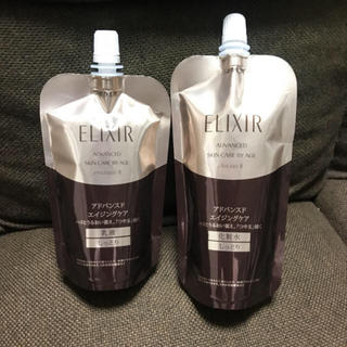 ELIXIR - 新品 エリクシール アドバンスドエイジングケア しっとり 乳液&化粧水セット
