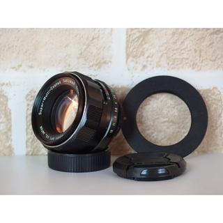 ペンタックス(PENTAX)のSMC Takumar 55mm F1.8 キャノンEFアダプターセット(レンズ(単焦点))
