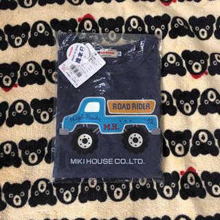 mikihouse - 新品♡ミキハウス 長袖Tシャツ 130 車 男の子 日本製