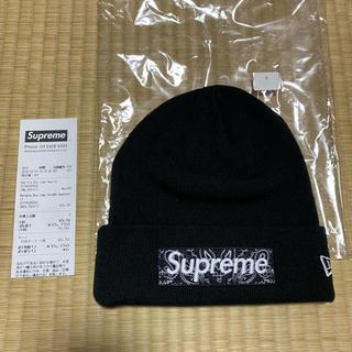 Supreme - Supreme New Era Bandana Box Logo Beanie