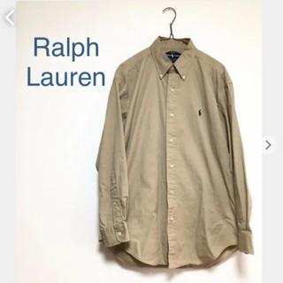 Ralph Lauren - ラルフローレン  ポロ ラルフ 古着 長袖シャツ BDシャツ ボタンダウン