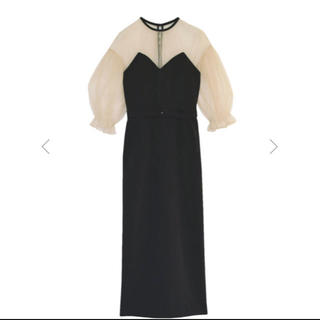 Ameri VINTAGE - アメリ♡20ss♡AMERI AIRY SLEEVE TIGHT DRESS
