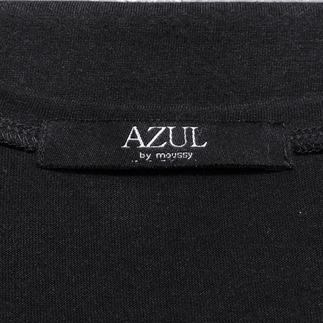 AZUL by moussy(アズールバイマウジー)のAZUL by moussy Vネック 長袖 プルオーバー ロング Tシャツ  レディースのトップス(カットソー(長袖/七分))の商品写真