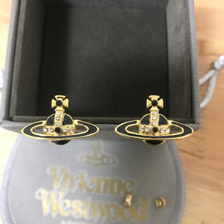 Vivienne Westwood - ピアス 黒