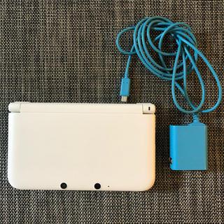 ニンテンドー3DS - 【中古】Nintendo 3DS LL 本体 ホワイト DL版ソフト付き