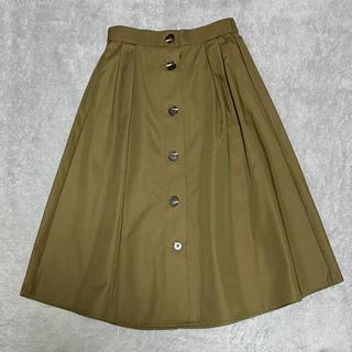 GU - 【新品・未着用・タグなし】GU フレアスカート