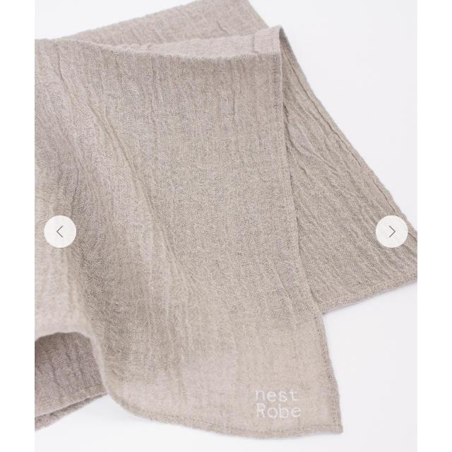 nest Robe(ネストローブ)のnest robe リネンボイルハンカチ レディースのファッション小物(ハンカチ)の商品写真