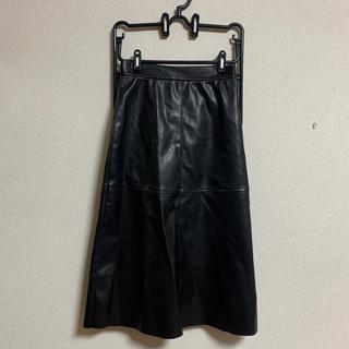 H&M - H&M レザースカート