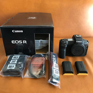 Canon - Canon EOS R ボディ バッテリー2個 付属品有 保証書有