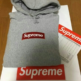 Supreme -  2016aw supreme Box Logo Hooded Sweatshi