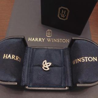 HARRY WINSTON - ハリーウィンストン リリークラスター ミニリング