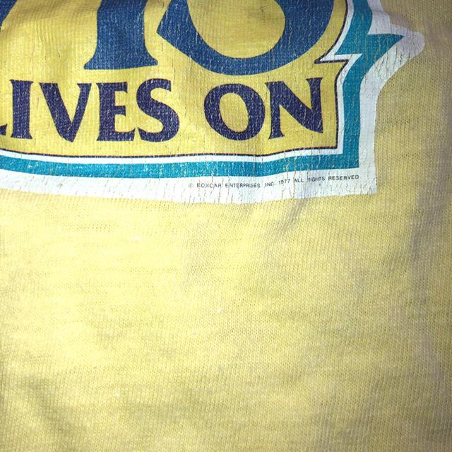 【レア】elvis 70s vintage メンズのトップス(Tシャツ/カットソー(半袖/袖なし))の商品写真