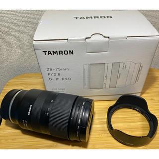 TAMRON - TAMRON a036 ソニーEマウント用 28-75mm フルサイズ用レンズ