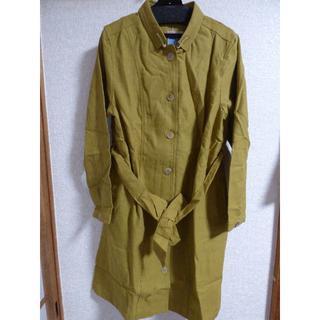 アルティプール(artipur)の新品未使用 やまぶき色 コート  (トレンチコート)