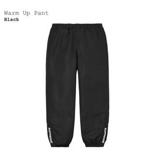 シュプリーム(Supreme)のSupreme Warm Up Pant Black L シュプリーム(その他)