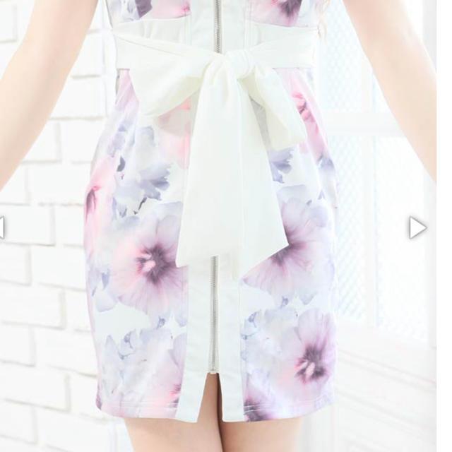 dazzy store(デイジーストア)の進撃のノア 着用モデル キャバドレス  フロントジップ レディースのフォーマル/ドレス(ミニドレス)の商品写真