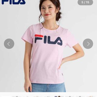 FILA - FILA フィラ ベーシックロゴTシャツ レディース カジュアル