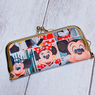 Disney - 合皮☆ミキミニ 実写柄 印鑑ケース