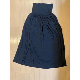 MUJI (無印良品) - ロングスカート   サロペット2点セット