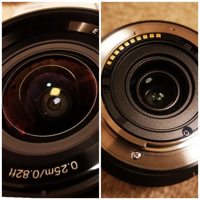 SONY(ソニー)のみつ様専用 新品同様 SONY SEL1018 E10-18mm F4 OSS スマホ/家電/カメラのカメラ(レンズ(ズーム))の商品写真
