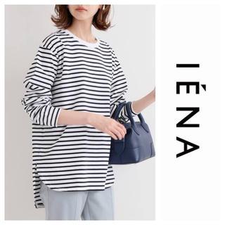 IENA - イエナ ラウンドテールロングTシャツ ネイビー