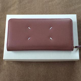 Maison Martin Margiela - 新品 メゾン マルジェラ エナメルレザー 長財布 レディース ライトピンク 財布
