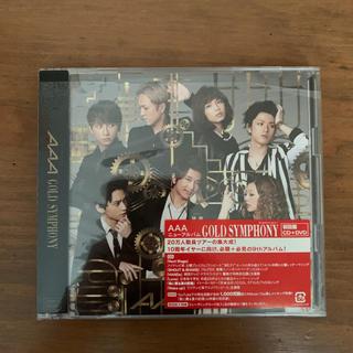 トリプルエー(AAA)のGOLD SYMPHONY(ポップス/ロック(邦楽))
