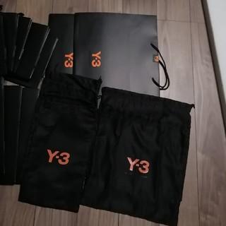 ワイスリー(Y-3)のもねちゃん専用 Y3 ショッパー大1つ、不織布袋1つ(ショップ袋)