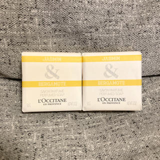 L'OCCITANE - 【新品】ロクシタン ジャスミン&ベルガモット  固形石鹸 50g×2点セット
