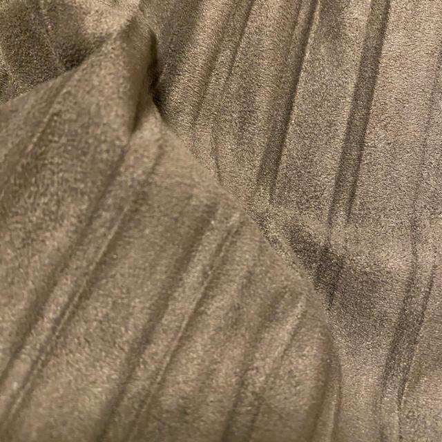 ZARA(ザラ)のZARA スウェードタッチ プリーツスカート レディースのスカート(ひざ丈スカート)の商品写真