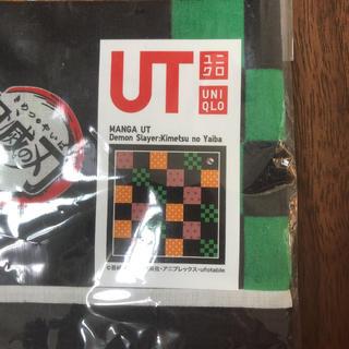 ユニクロ(UNIQLO)の鬼滅の刃 ハンカチ(ハンカチ/バンダナ)