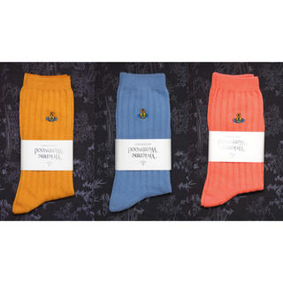 Vivienne Westwood - Vivienne Westwood 靴下 ソックス 3点セット レッグウェア