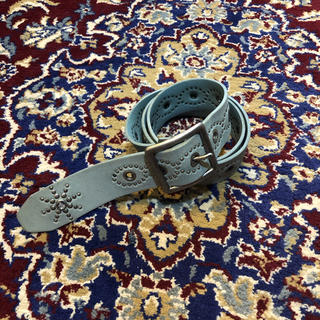 HYSTERIC GLAMOUR - VINTAGE studs & jewel suede belt