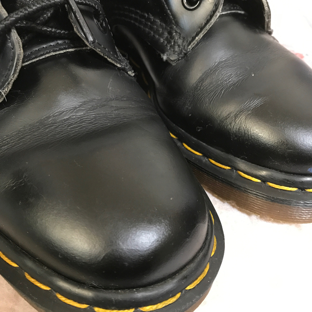 Dr.Martens(ドクターマーチン)の専用出品☆Dr.martens☆8ホール本革ブーツ23センチ  レディースの靴/シューズ(ブーツ)の商品写真