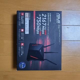 エイスース(ASUS)の【美品】ASUS 無線ルータ RT-AC86U(PC周辺機器)