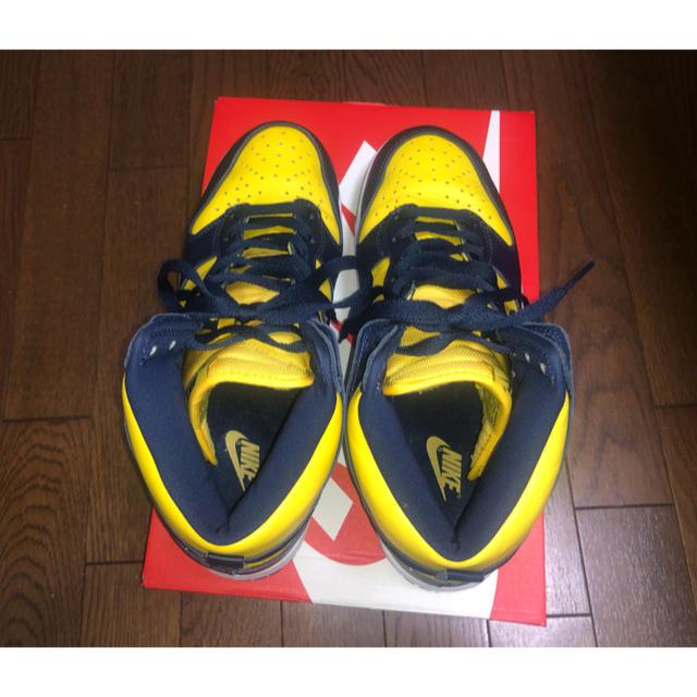 NIKE(ナイキ)のNIKE DUNK HI SP ミシガン メンズの靴/シューズ(スニーカー)の商品写真